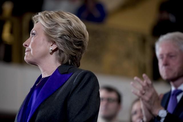 Hillary Clinton a perdu mardi la présidentielle américaine... (AP)