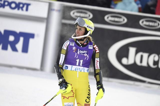 Marie-Michèle Gagnon n'a pu faire mieux qu'une 17e... (AP)