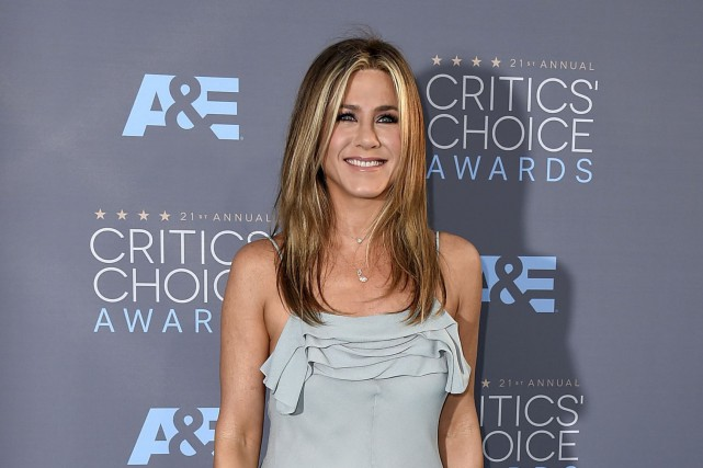 Jennifer Aniston en janvier 2016... (Archives AP, Jordan Strauss)