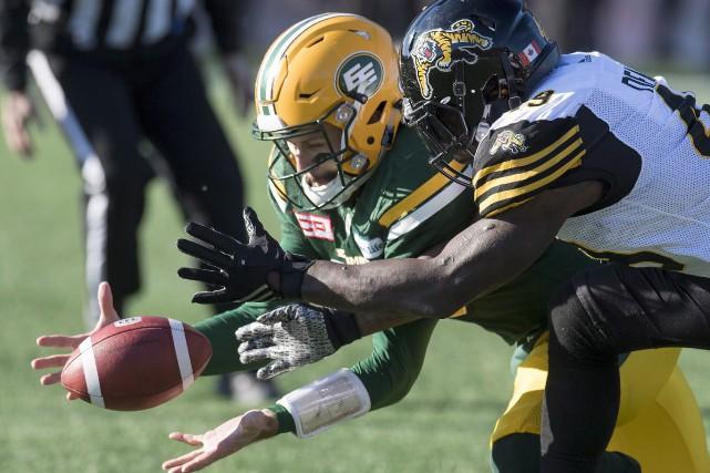 Le placement de neuf verges de Sean Whyte avec sept secondes à écouler a permis... (Photo La Presse Canadienne)