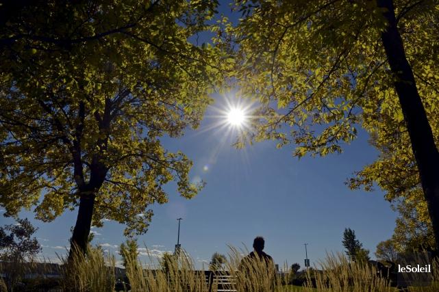 Il y a un mois, par une belle journée d'automne sur la promenade Samuel-De... (Le Soleil, Pascal Ratthé)