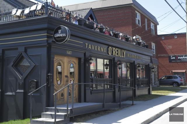La Taverne irlandaise O'Reilly, un bistro de 105... (Archives La Tribune, René Marquis)