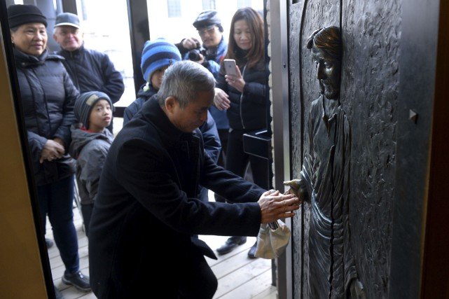 200 000 pélerins ont passé la porte sainte... (Le Soleil, Jean-Marie Villeneuve)