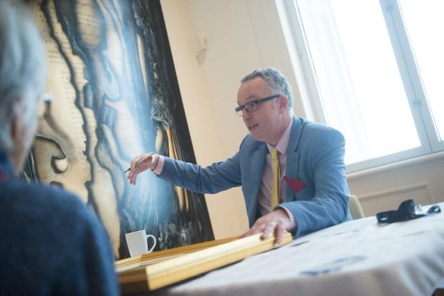 Le Musée des beaux-arts de Sherbrooke organisait dimanche... (Spectre Média, Julien Chamberland)