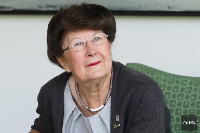 Pauline Quinlan est présentement en réflexion concernant son... (archives La Voix de l'Est)