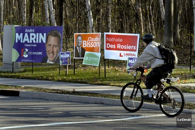Onze candidats se font la lutte dans Ottawa-Vanier.... (Martin Roy, Archives Le Droit)