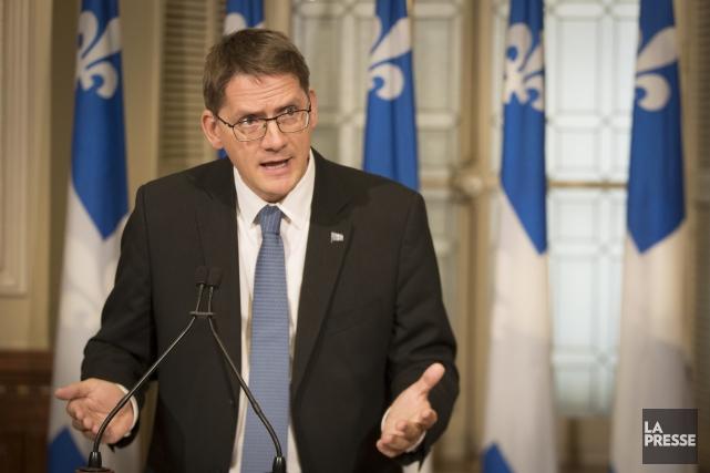 Le député de Jonquière, Sylvain Gaudreault, parlera notamment... (Archives La Presse)