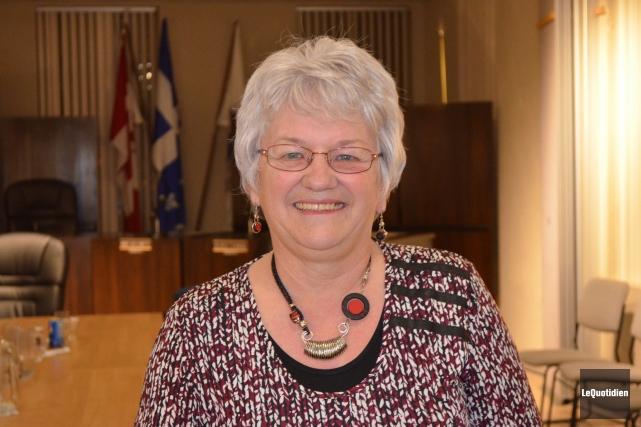 Ghislaine M.-Hudon, mairesse de Lac-Bouchette et préfète de... (Archives Le Quotidien)