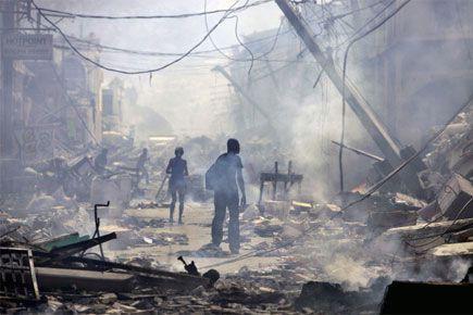 Le tremblement de terre en Haïti qui a... (Photo archives AP)
