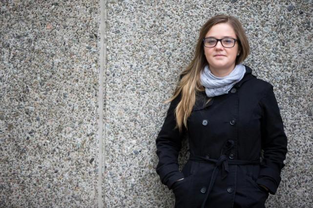 Masarah Paquet-Clouston,étudiante en criminologie et bachelière en économie... (Photo François Roy, La Presse)
