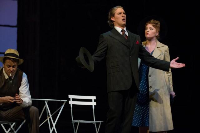 Le metteur en scène David Lefkowich réussit avec... (PHOTO OLIVIER JEAN, LA PRESSE)