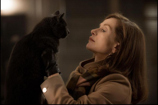 Isabelle Huppert dans Elle... (PHOTO FOURNIE PAR CINEMANIA)