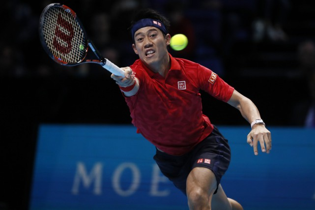 Kei Nishikori... (Photo Stefan Wermuth, REUTERS)