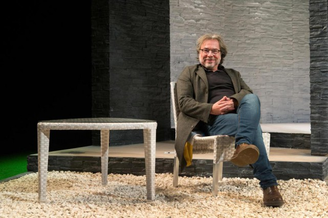 «Le théâtre est un miroir du monde», estime... (Photo Robert Skinner, La Presse)