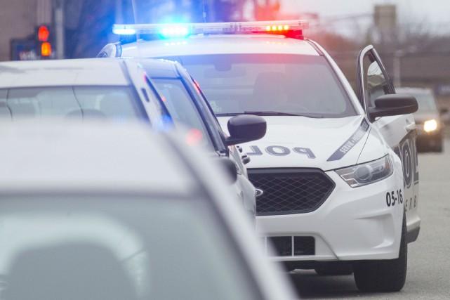 Un individu bien connu des milieux policiers a été surpris par l'alarme d'un... (Spectre Média, Julien Chamberland)