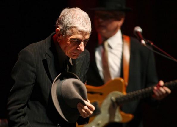 Leonard Cohen lors du Festival de jazz de... (PHOTO MARTIN CHAMBERLAND, ARCHIVES LA PRESSE)