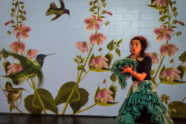 Comment j'ai appris à parler aux oiseaux (dès... (Photo Caroline Hayeur, fournie par Les Coups de Théâtre)