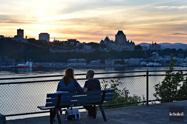Québec, vue de Lévis... (Photothèque Le Soleil, Pascal Ratthé)