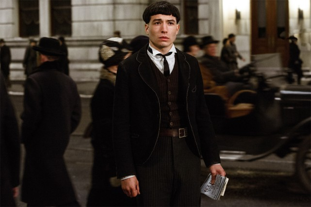 Credence Barebone (Ezra Miller)... (Photo fournie par Warner Bros.)