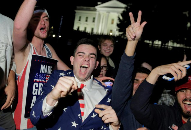 «L'élection de Donald Trump est l'aboutissement logique d'une... (PHOTO JOSHUA ROBERTS, REUTERS)