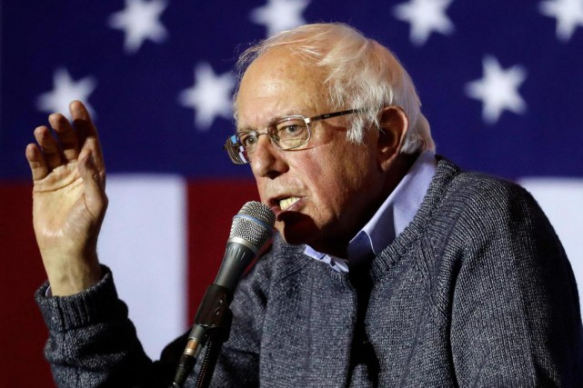 Bernie Sandersprésentera mercredi au Sénat sa proposition de... (Photo John Minchillo, archives Associated Press)