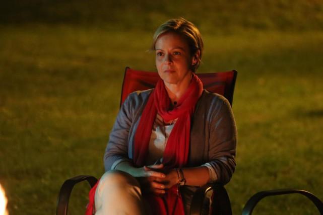 Maude Guérin tient le rôle principal de Feux,... (Photo fournie par ICI Radio-Canada)