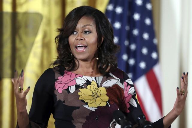 La première dame Michelle Obama à la Maison-Blanche,... (photo Manuel Balce Ceneta, AP)
