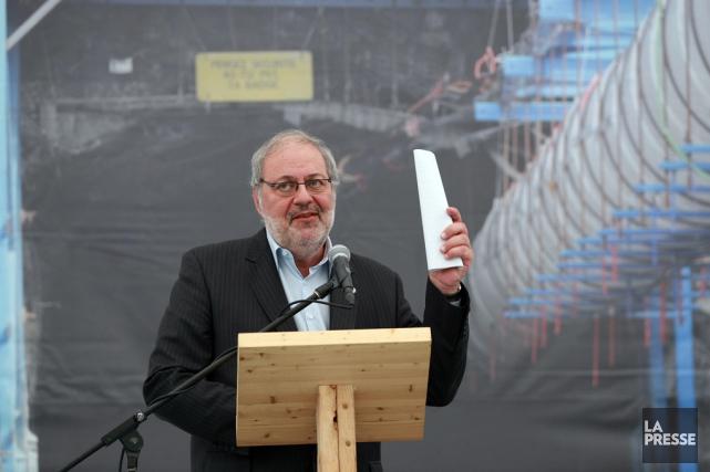 Le ministre Pierre Arcand.... (Martin Chamberland, La Presse)