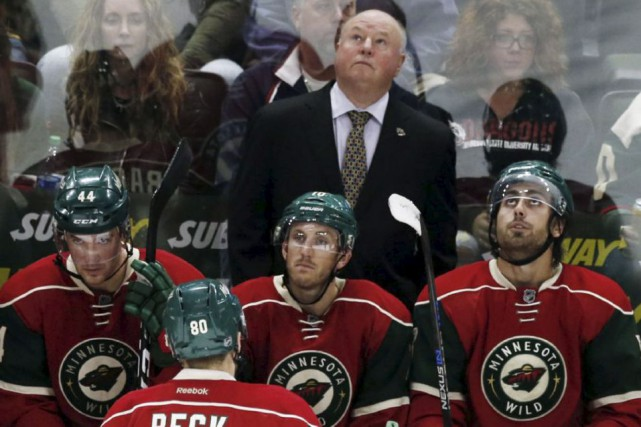 Le Wild du Minnesota a un dossier de... (Archives, Associated Press)
