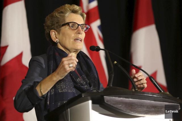 TORONTO - Le gouvernement libéral de l'Ontario puise dans son fonds de... (Patrick Woodbury, Archives Le Droit)