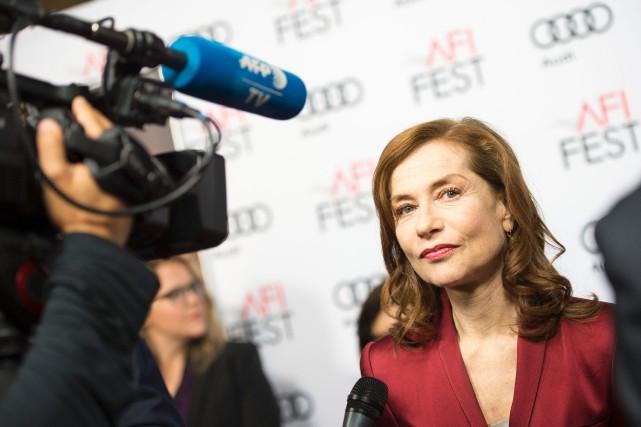 En compétition au dernier Festival international de Cannes,Elle,... (Photo AFP)