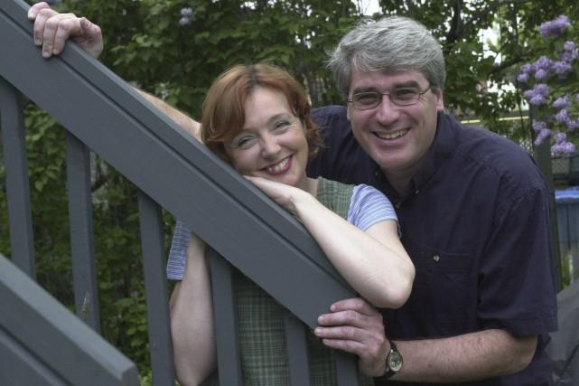 Les auteurs Sylvie Lussier et Pierre Poirier... (Photothèque Le Soleil)
