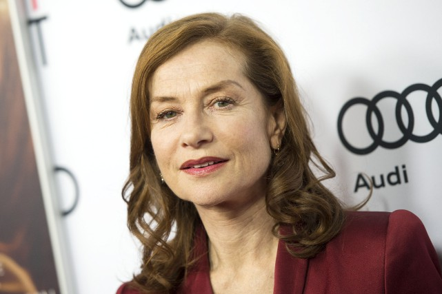 L'actrice Isabelle Huppert... (AFP, Valerie Macon)