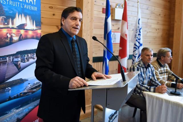Le député de Chicoutimi-Le Fjord, Denis Lemieux... (Archives Rocket Lavoie)