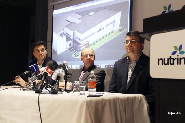 Le directeur général de Nutrinor, Yves Girard, le... (Le Quotidien, Yohann Gasse)