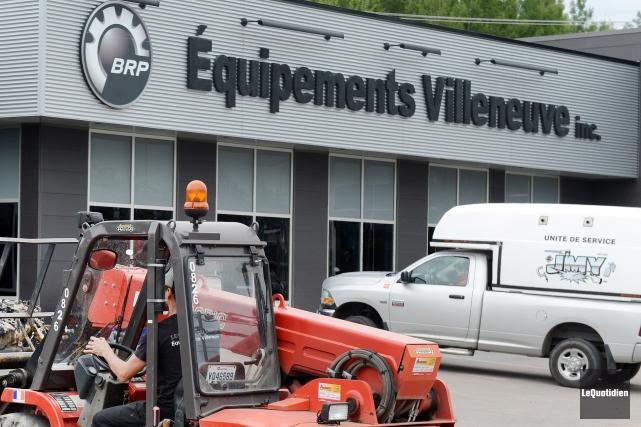 L'entreprise Équipements Villeneuve change de propriétaires.... (Archives Le Quotidien, Jeannot Lévesque)