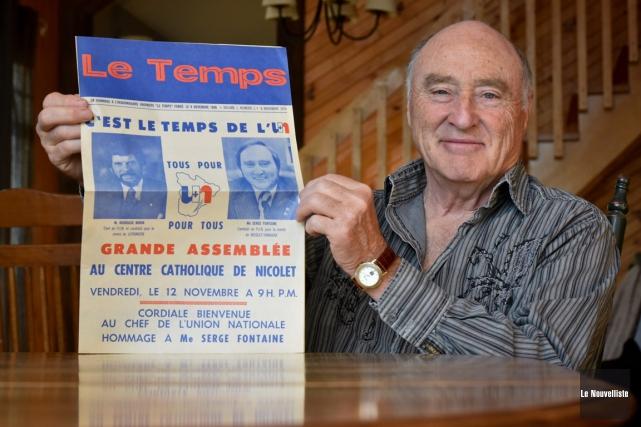 L'ancien député de l'Union nationale dans Nicolet-Yamaska, Serge... (François Gervais, Le Nouvelliste)