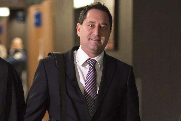 Michael Applebaum fait face à 14 chefs d'accusation,... (La Presse canadienne, Paul Chiasson)