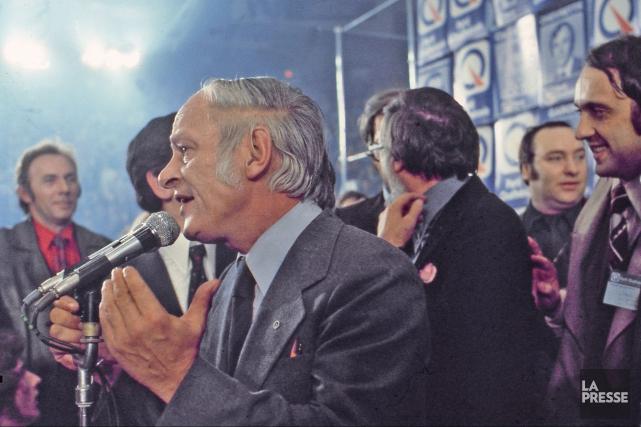 Il y a 40 ans, le Parti québécois... (La Presse)
