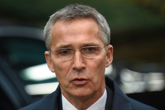 Jens Stoltenberg... (PHOTO JOHN THYS, AGENCE FRANCE-PRESSE)