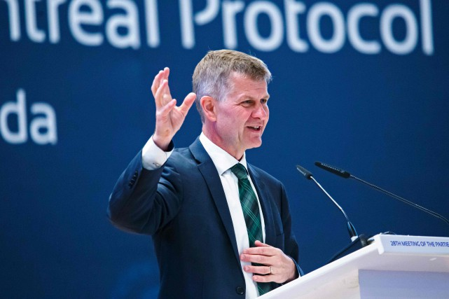 Erik Solheim... (PHOTO CYRIL NDEGEYA, ARCHIVES AGENCE FRANCE-PRESSE)