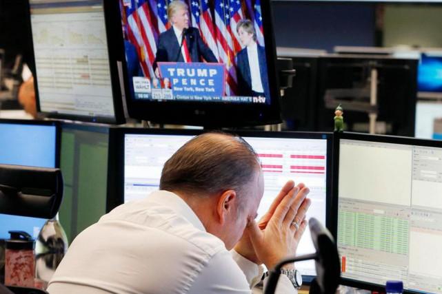 Depuis l'élection de Donald Trump, les craintes de... (Photo Michael Probst, Associated Press)