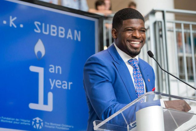 Le documentaire P.K. Subban: Patiner droit devant s'intéresse notamment aux... (Photo Paul Chiasson, archives La Presse canadienne)