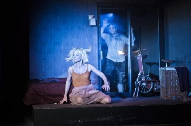 Très réussis, certains tableaux de la pièce Le... (Photo Yanick Macdonald, fournie par le Quat'sous)