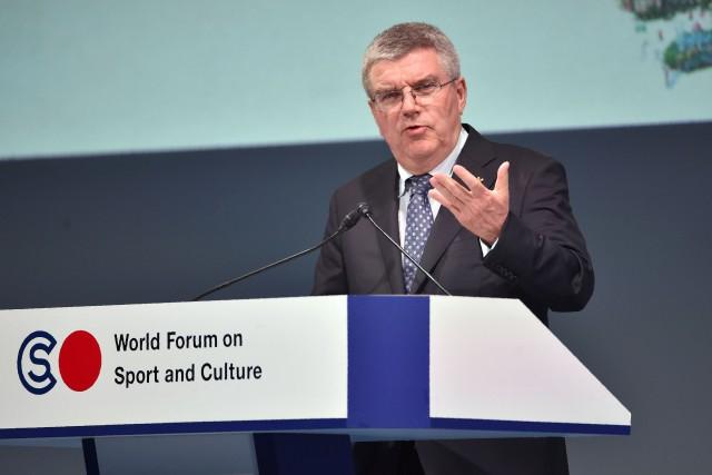 Le président du CIO, Thomas Bach... (Agence France-Presse)