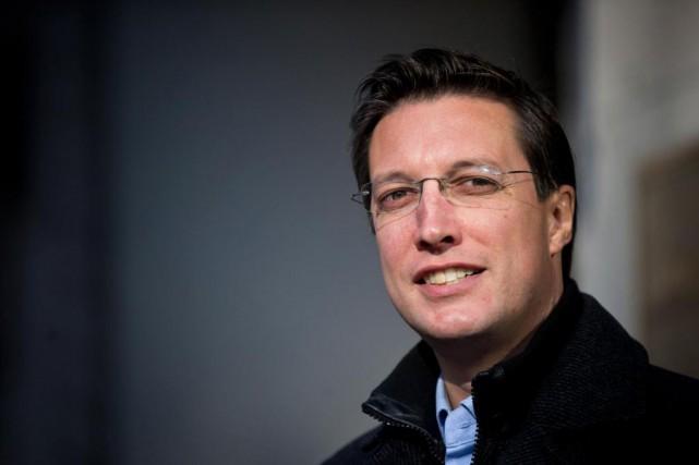 Le conseiller municipal de Projet Montréal Guillaume Lavoie... (Photo Patrick Sanfaçon, La Presse)