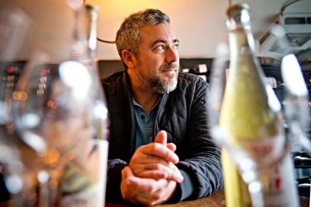 Le chef cuisinier, restaurateur et animateur Martin Juneau,copropriétaire... (PHOTO PATRICK SANFACON, LA PRESSE-)