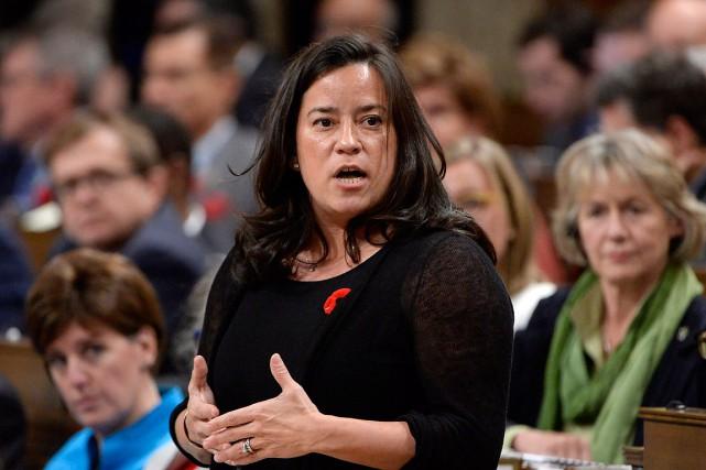 La ministre de la Justice du Canada, Jody... (Archives, La Presse canadienne)