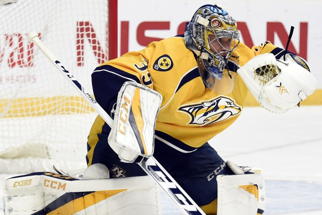 Pekka Rinne... (Photo Mark Zaleski, AP)