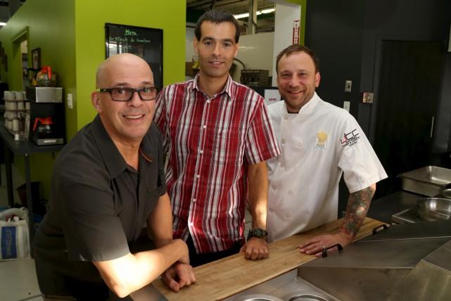 Moreno Tomei, de La Table à Mo, Éric... (Janick Marois)